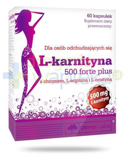 Olimp L-Karnityna 500 Forte Plus 60 kapsułek