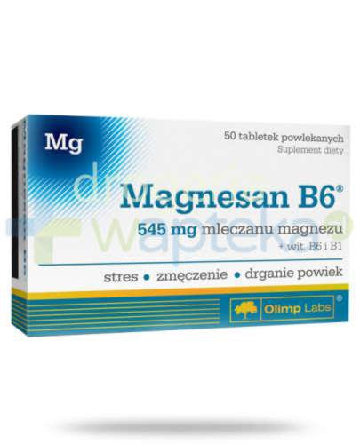Olimp MagneSan B6 50 tabletek [Data ważności 06-03-2020]