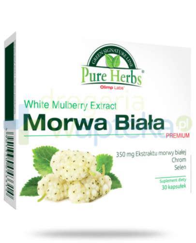 Olimp Morwa Biała Premium 30 kapsułek
