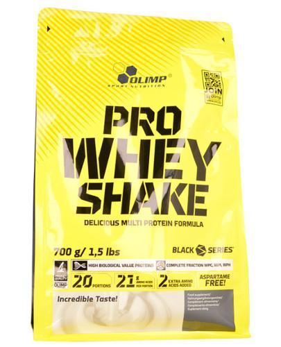 Olimp Pro Whey Shake odżywka białkowa smak czekolada 700 g