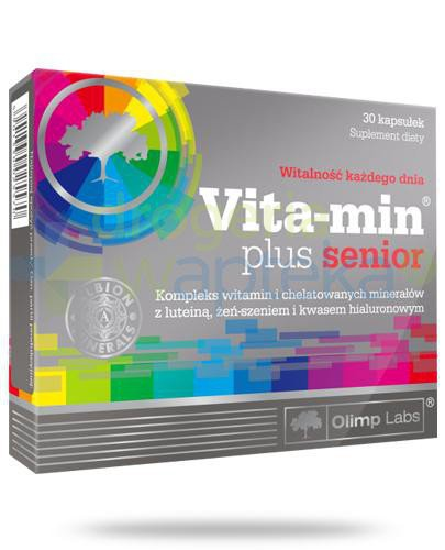 Olimp Vita-min Plus Senior 30 kapsułek
