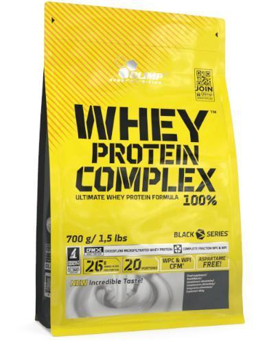 Olimp Whey Protein Complex 100% odżywka białkowa smak wanilia 700 g