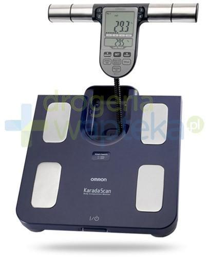 Omron BF 511 waga elektroniczna i analizator składu ciała kolor niebieski 1 sztuka  whited-out