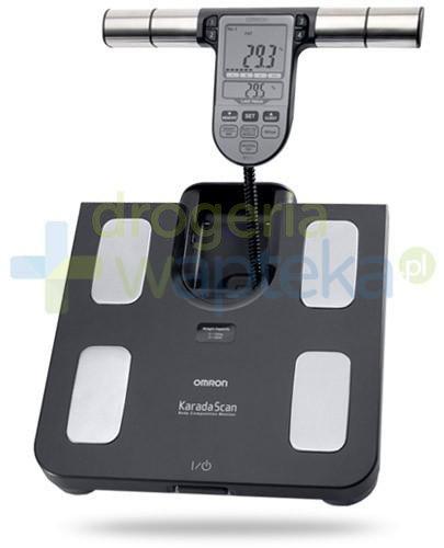 Omron BF 508 waga elektroniczna i analizator składu ciała kolor czarny 1 sztuka  whited-out