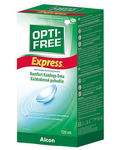 Opti-Free Express wielofunkcyjny płyn do soczewek 120 ml