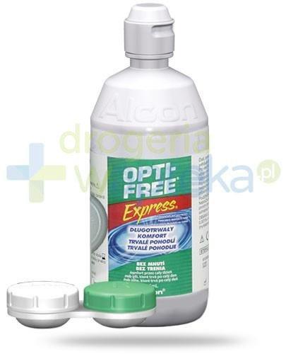 Opti-Free Express wielofunkcyjny płyn do soczewek 355 ml