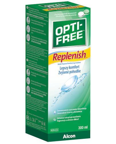 Opti-Free Replenish wielofunkcyjny płyn do soczewek 300 ml