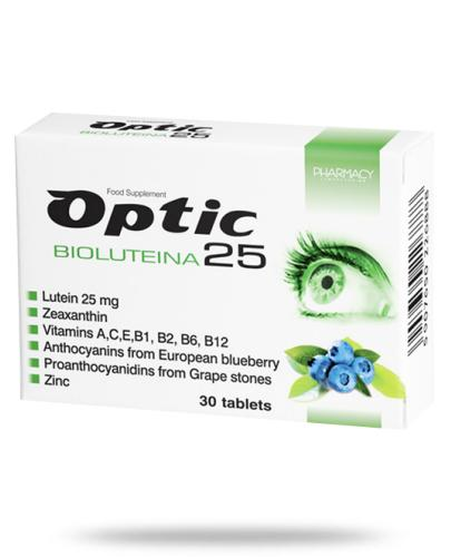 Optic Bioluteina 25mg 30 tabletek