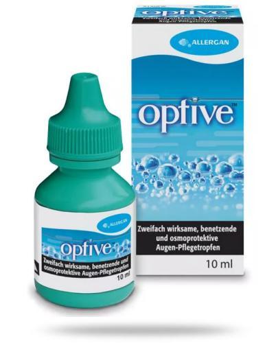Optive roztwór zapewniający komfort suchym oczom 10 ml [Data ważności 31-12-2020]