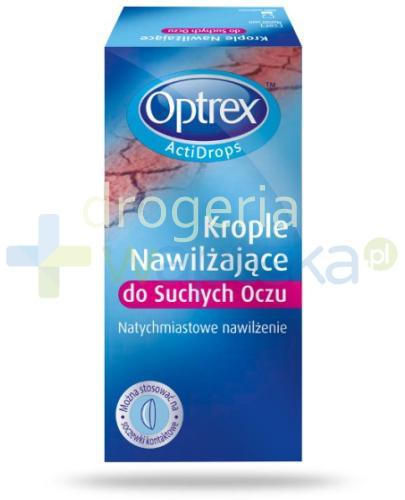 OPTREX Actidrops nawilżające krople do suchych oczu 10 ml