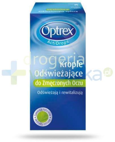 Optrex ActiDrops odświeżające krople do zmęczonych oczu 10 ml