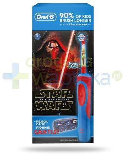 Oral-B Stages Kids Gwiezdne Wojny szczoteczka elektryczna dla dzieci 3+ 1 sztuka + piórni...  whited-out
