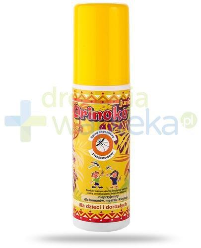 Orinko Junior spray przeciw komarom i kleszczom 90 ml [Data ważności 31-05-2020]