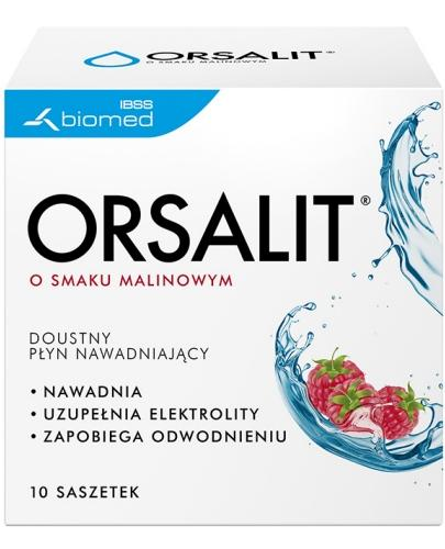 Orsalit smak malinowy 10 saszetek  whited-out