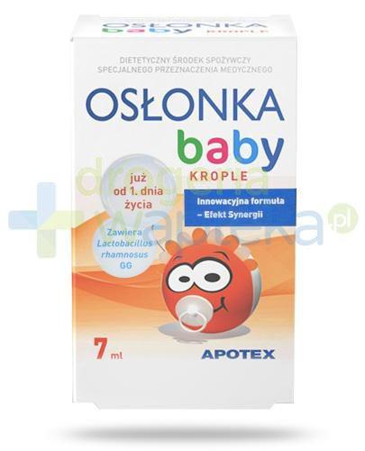 Osłonka Baby krople od 1-go dnia życia 7 ml
