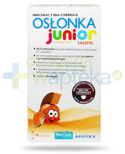 Osłonka Junior 10 saszetek  whited-out
