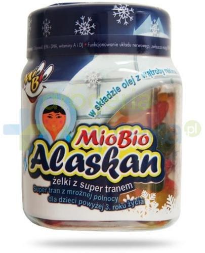 Mio Bio Alaskan Żelki z super tranem 30 sztuk