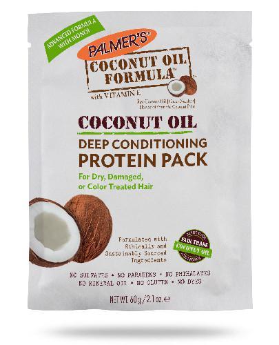 Palmers Coconut Oil kuracja proteinowa do włosów farbowanych 60 g