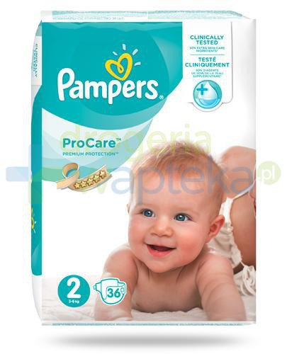 Pampers ProCare 2 pieluchy dla niemowląt 3-6kg 36 sztuk