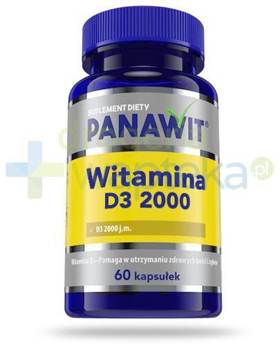 Panawit witamina D3 2000 60 kapsułek  whited-out
