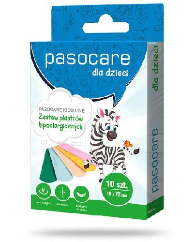 Pasocare Kids Line plastry neonowe 19 x 72mm 10 sztuk