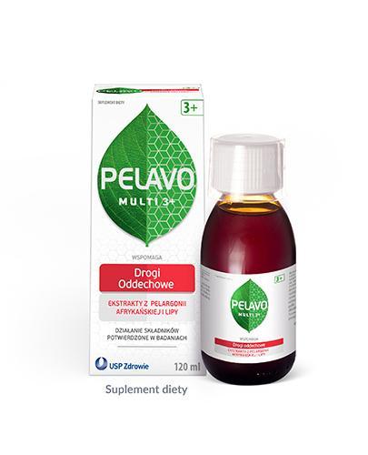 Pelavo Multi Drogi oddechowe syrop dla dzieci 3+ o smaku malinowym 120 ml [Data ważnośc...