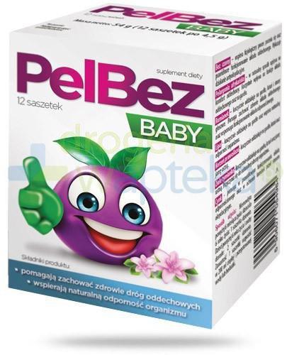 PelBez Baby proszek do przyrządzania roztworu 12 saszetek