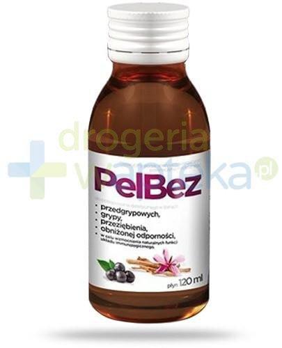 PelBez syrop na przeziębienie i grypę dla dzieci 120 ml