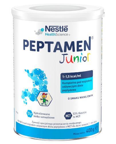 Peptamen Junior preparat odżywczy w proszku dla dzieci po 1 roku życia smak waniliow...