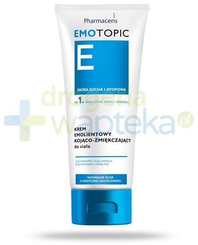 Pharmaceris E Emotopic krem emolientowy kojąco-zmiękczający 200 ml [STARA WERSJA]  whited-out