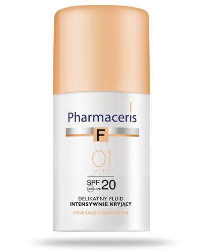 Pharmaceris F delikatny fluid intensywnie kryjący SPF20 01 IVORY 30 ml
