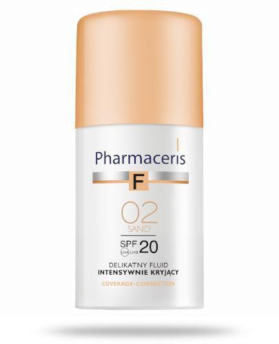 Pharmaceris F delikatny fluid intensywnie kryjący SPF20 02 SAND 30 ml