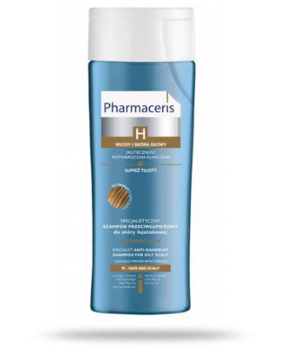 Pharmaceris H Purin szampon przeciwłupieżowy do skóry łojotokowej 250 ml