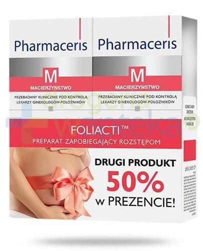 Pharmaceris M Foliacti krem zapobiegający rozstępom 2x 150 ml [DWUPAK]