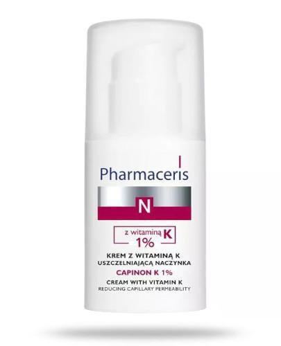 Pharmaceris N Capinon K 1% krem z witaminą K uszczelniającą naczynka 30 ml