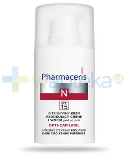 Pharmaceris N Opti-Capilaril krem redukujący cienie i worki pod oczami 15 ml