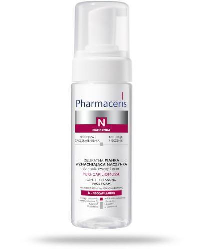 Pharmaceris N Puri-Caplilicmusse pianka delikatna wzmacniająca naczynka do twarzy i ocz...