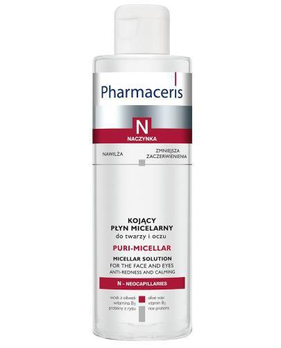 Pharmaceris N Puri-Miccelar płyn micelarny do oczyszczania i demakijażu twarzy i ocz...