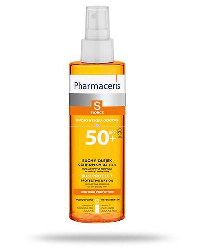 Pharmaceris S Sun Protect suchy olejek ochronny SPF50+ do ciała 200 ml