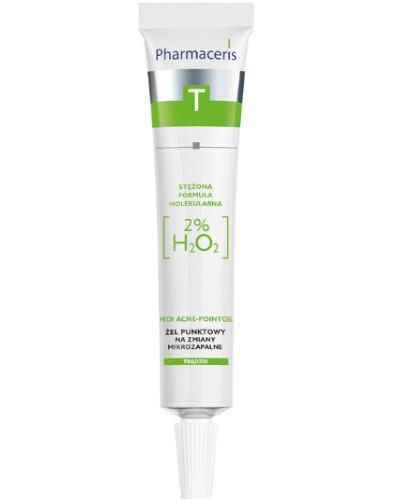 Pharmaceris T Medi Acne-Pointgel żel punktowy na miejscowe zmiany mikrozapalne 10 ml  whited-out