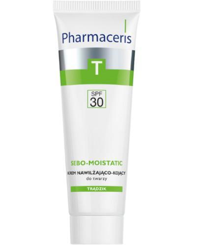 Pharmaceris T Sebo-Moistatic krem nawilżająco kojący SPF30 w trakcie i po kuracjach prz...