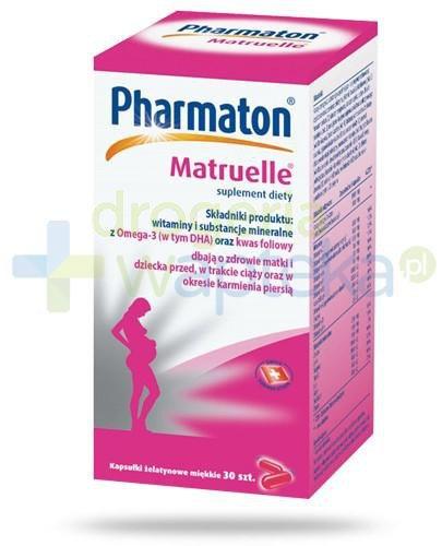 Pharmaton Matruelle 30 kapsułek
