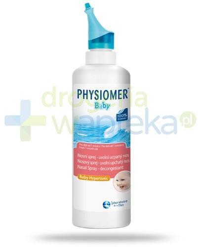 Physiomer Baby woda morska do oczyszcania nosa w sprayu 115 ml
