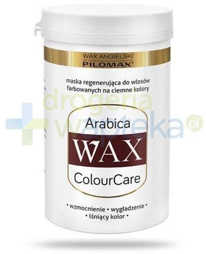 Pilomax WAX ColourCare Arabica maska do włosów farbowanych ciemnych 240 ml