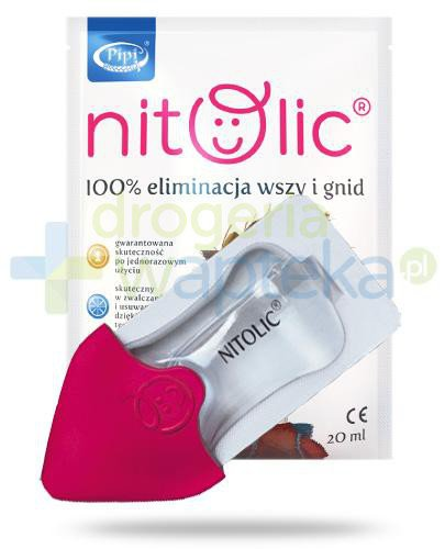 Pipi Nitolic preparat przeciw wszawicy z aplikatorem 20 ml  whited-out