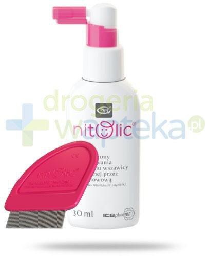 Pipi Nitolic spray przeciw wszawicy z grzebieniem 30 ml
