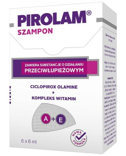 Pirolam szampon przeciwłupieżowy 6 saszetek po 6 ml