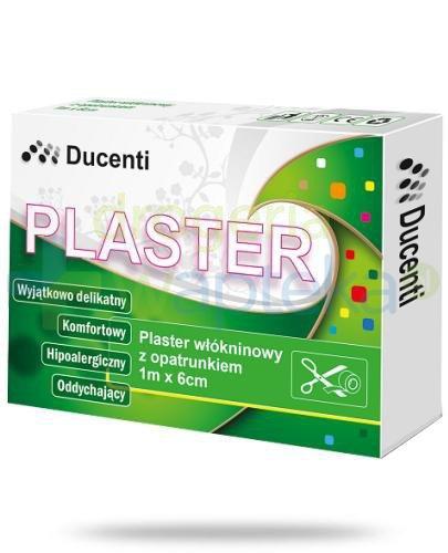 Ducenti plaster włókninowy do cięcia z opatrunkiem 1m x 6cm