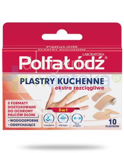 Plastry kuchenne Laboratoria Polfa Łódź ekstra rozciągliwe 10 sztuk