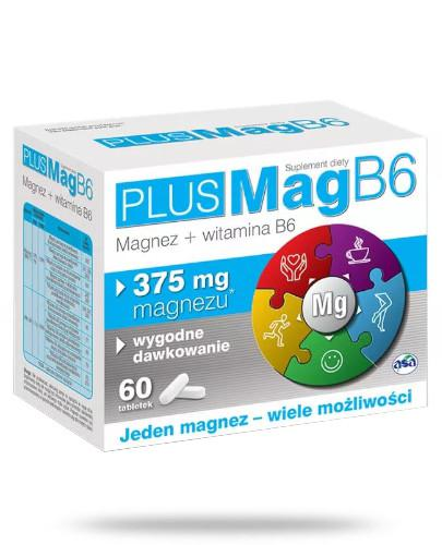 PlusMag B6 375mg 60 tabletek